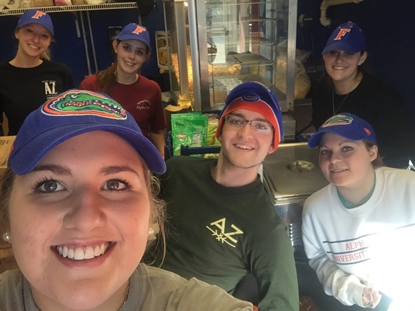 Gators vs. Mississippi State- Basketball Concessions