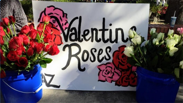 Florida Chapter's Annual Valentine Rose Sale