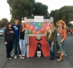 Cal Epsilon Volunteers for Trunk-or-Treat, WINS Contest for Best Decorated Trunk.