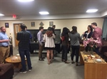 Faculty Wine and Cheese Event at AZ Cornell